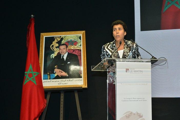 Halima Ouzzif, professeur à la Faculté des sciences juridiques, économiques et sociales de Casablanca