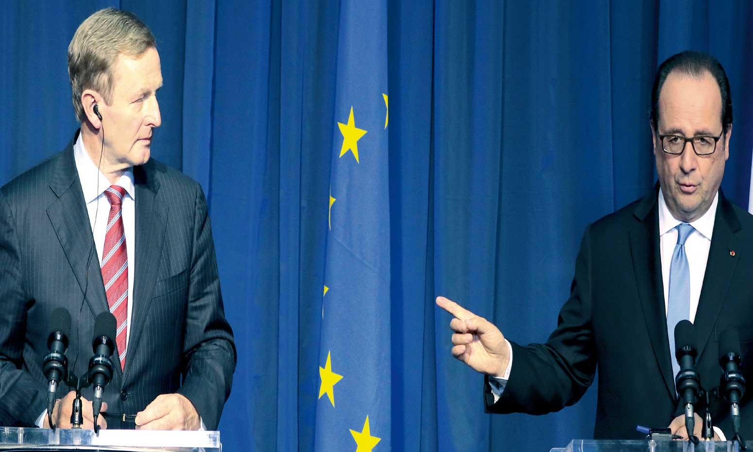 Hollande pour un Brexit «le plus rapidement possible» avant  sa rencontre avec May