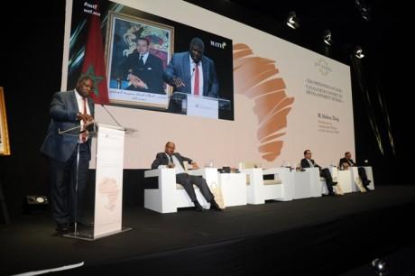 Ce panel a été animé par Abdelkhalek Touhami, Abdellatif Komat, Abdou Diop et Youssef Rouissi.