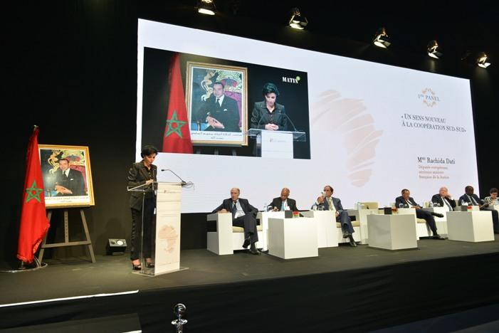 Cette importante manifestation a permis de mettre en valeur les actions et l'engagement du Maroc pour le développement du continent africain.