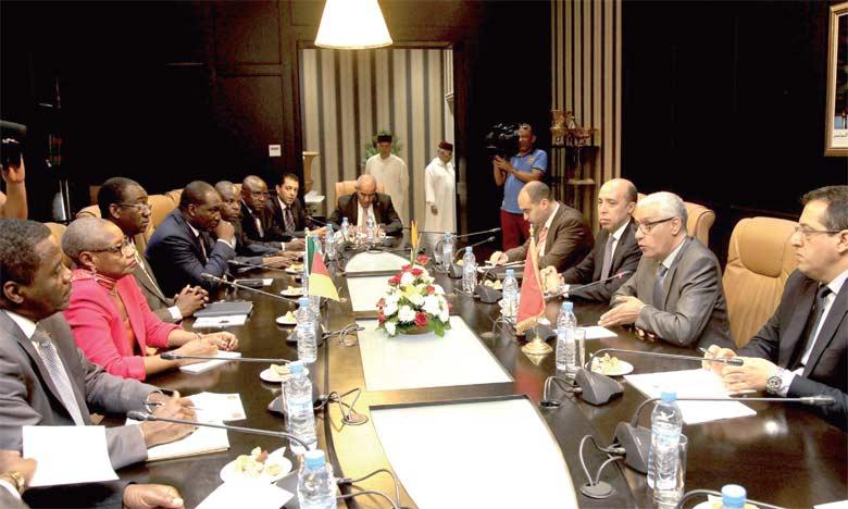 Le président de la Chambre des représentants, Rachid Talbi Alami, a eu des entretiens avec une délégation de l'Assemblée nationale camerounaise.