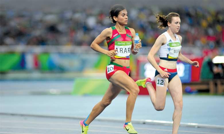 Rababe Arafi rate sa finale du 1.500 m