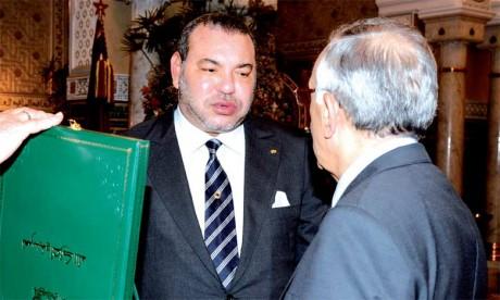 20 mai 2015 : S.M. le Roi Mohammed VI préside à Casablanca la cérémonie de présentation de la vision stratégique pour la réforme de l'Ecole marocaine (2015-2030).