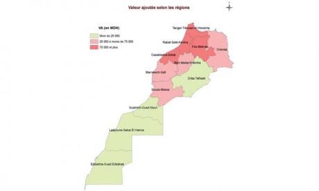 Casablanca-Settat et Rabat-Salé-Kénitra participent  pour 48,3% au PIB national