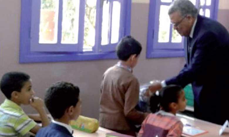 Près de 660.000 bénéficiaires de l'initiative royale «Un million de cartables» dans la région