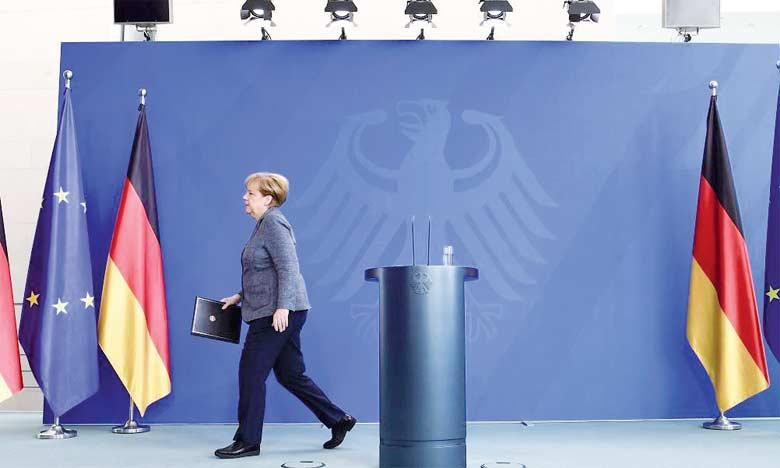 À la tête du gouvernement allemand depuis 2005, la chancelière a conduit la CDU de victoire en victoire dans les urnes.