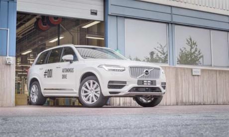 Volvo Cars lance le projet Drive Me