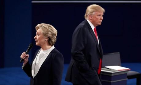 Débat musclé entre Trump et Clinton