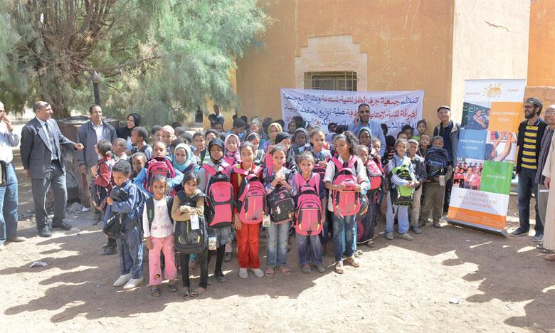 «Ichraka» encourage  la scolarisation à Errachidia