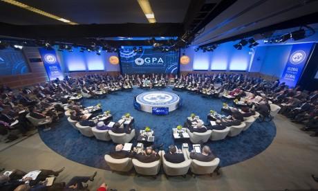 M. Boussaid participe aux réunions des Assemblées annuelles de la Banque mondiale et du FMI