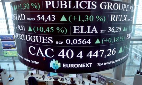 Euronext, l'opérateur qui chapeaute les Bourses de Paris, Lisbonne, Amsterdam et Bruxelles, a constaté une chute des introductions sur le marché.              Ph AFP
