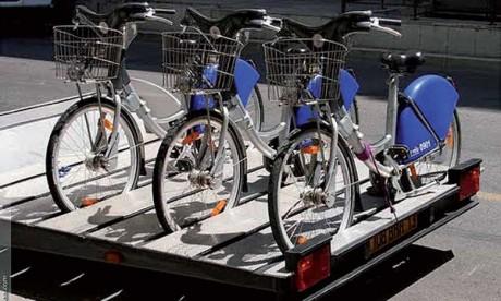 Marrakech se dote  d'un système de vélos  en libre-service