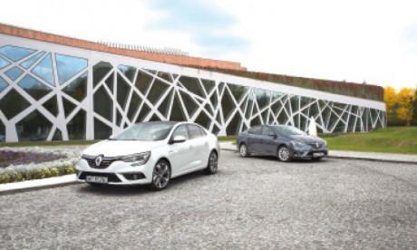 La berline tricorps façon Renault
