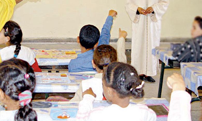 90.000 enfants non scolarisés bénéficient des classes de l'éducation non formelle
