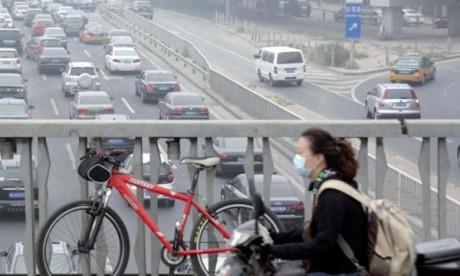 Pékin va interdire  les vieilles voitures  en cas d'alerte