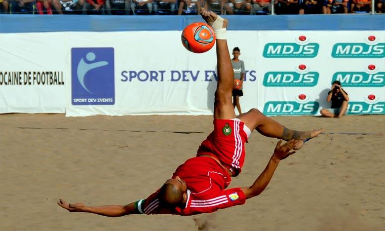 La sélection marocaine s'est inclinée lors du match pour la troisième place devant l'Egypte (1-4). Ph : DR