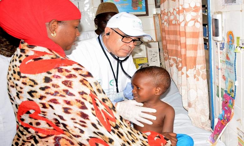 La caravane médicale a sillonné pendant trois jours les quartiers défavorisés de Dakar. Ph: DR