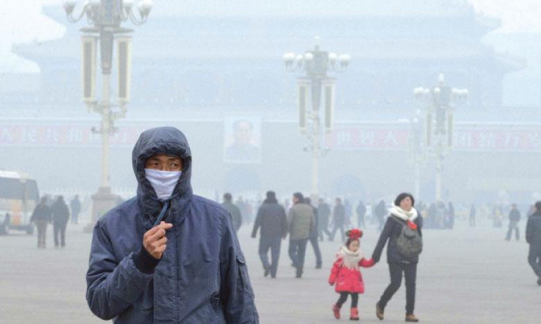 La Chine étouffe sous les brumes  de la pollution
