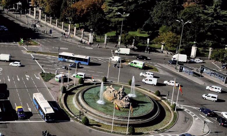 La circulation alternée pour la première fois à Madrid
