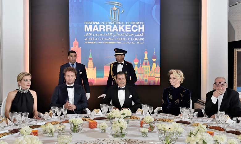 S.A.R. le Prince Moulay Rachid préside un dîner offert par S.M. le Roi à l'occasion de l'ouverture officielle