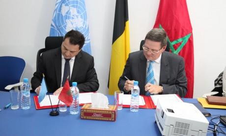 La Belgique appuie les efforts du Maroc