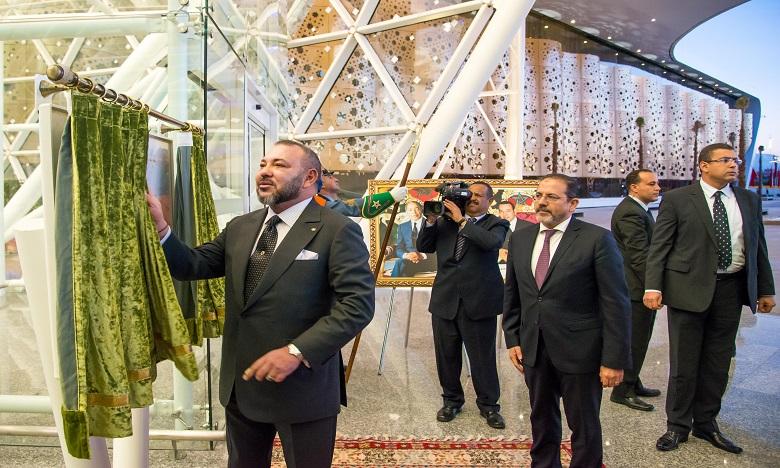 S.M. le Roi inaugure le nouveau terminal de l'aéroport Marrakech-Menara, un atout supplémentaire pour l'attractivité de la Cité ocre