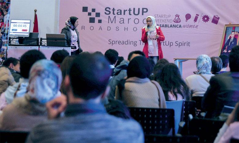Carton plein pour le «Startup  Weekend Casablanca Women»