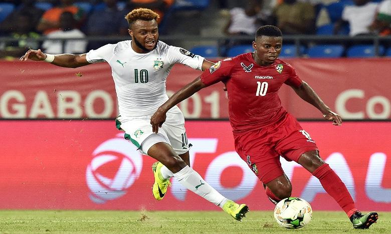 La Côte d'Ivoire et le Togo ont fait match nul (0-0), lundi au Stade d'Oyem en match de la première journée de la CAN 2017. Ph : AFP