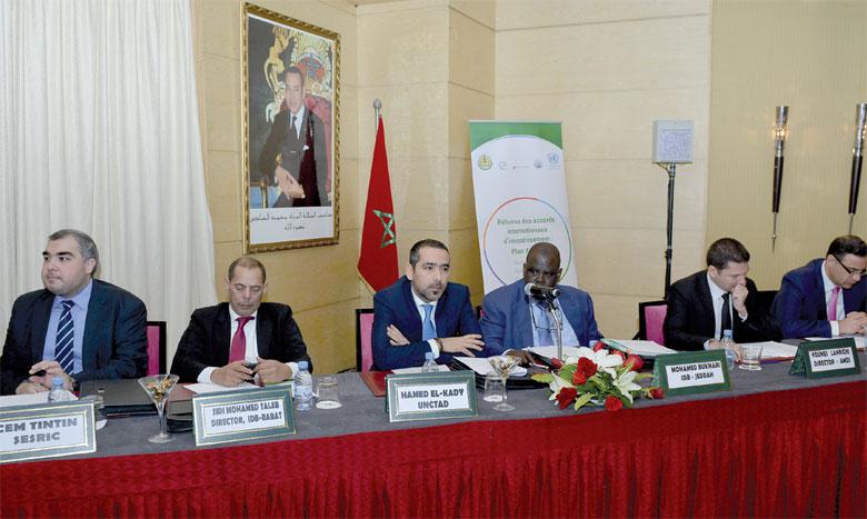 La rencontre sur «La réforme des accords internationaux d'investissement» a réuni 60 experts de plus de 30 pays membres de la Banque islamique de développement, organisatrice aux côtés de la Cnuced.               Ph. Saouri