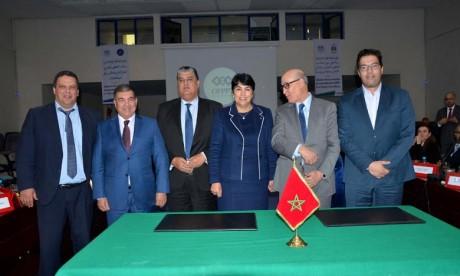 L'OFFPT et l'Université Ibn Zohr accompagnent le Conseil de la région de Souss-Massa