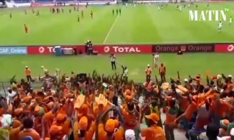 Grosse ambiance d'avant match à Oyem (Vidéo)