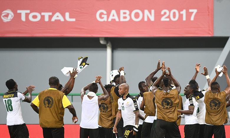 Grâce à cette victoire, le Ghana conserve le fauteuil de leader du groupe D avec 6 points. Ph. AFP