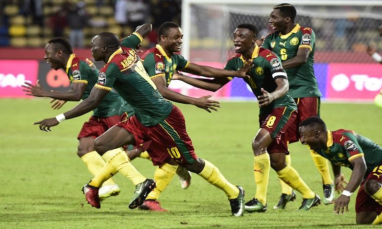 Le Cameroun qualifié pour les demi-finales en battant le Sénégal aux tirs au but