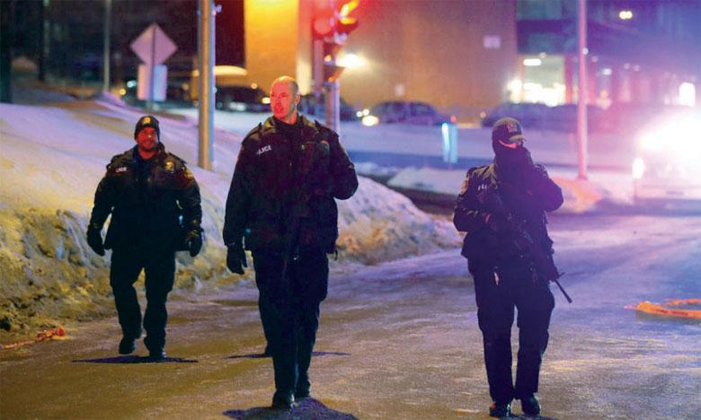Une vaste opération policière a été lancée, lundi 30 janvier, après la fusillade et deux suspects ont été interpellés.