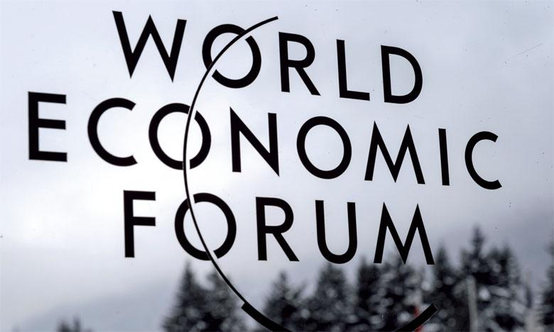 Le World Economic Forum a lieu à Davos dans une petite commune de 12.000 habitants à l'est de la Suisse. Celle-ci se transforme pendant quelques jours en foyer économique qui capte l'attention du monde entier.Ph. AFP