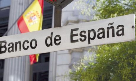 La Banque d'Espagne, dont le mode de calcul est plus large, dénombrait fin novembre 9,2% de prêts douteux, contre 13,6% fin2013, pic historique.