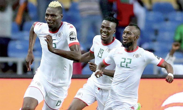 Le Burkina Faso en demi-finale