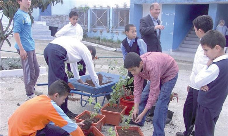 Le «Pavillon vert» est octroyé aux établissements scolaires en reconnaissance de leurs efforts déployés et de leur engagement dans la protection de l'environnement.