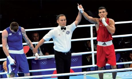 Le pugiliste marocain a été battu en demi-finle face à l'Ouzbec Giyasov Shaharam.