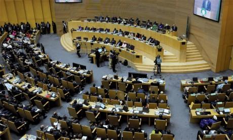 Techniquement, le retour du Maroc à l'UA doit être validé par une majorité de deux tiers, soit 36 pays africains, sur les 54 que compte l'organisation.Ph. AFP