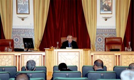 Omar Azziman a affirmé qu'«il n'y aura pas d'annulation de la gratuité de l'enseignement public». Ph. MAP