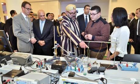S.M. le Roi inaugure l'Université Mohammed VI Polytechnique à la Ville verte de Benguerir