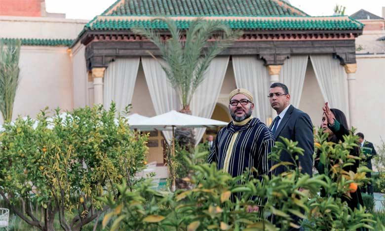 S.M. le Roi lance d'importants projets destinés à la préservation du patrimoine historique de l'ancienne médina de Marrakech et au renforcement de sa vocation touristique