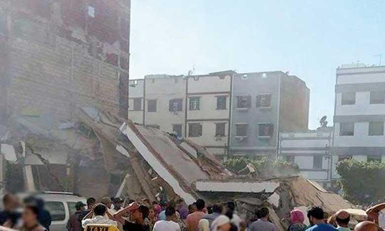 Audition des accusés  dans l'effondrement  d'un immeuble à Sbata