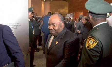 Ali Bongo Ondimba, Président de la République gabonaise.