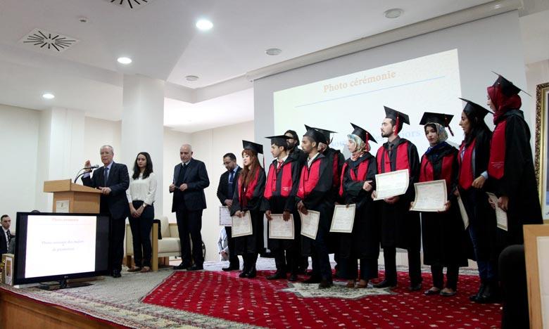 Ahmed Toufiq : «Le ministère des Habous et des Affaires islamiques et la Fondation de la Mosquée Hassan II ne ménagent aucun effort pour encourager et accompagner les jeunes diplômés». Ph : MAP