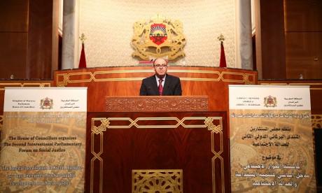 S.M. le Roi Mohammed VI: «Adopté et institutionnalisé  en tant que choix stratégique, le dialogue social a consacré  la vocation sociale du régime de Monarchie constitutionnelle»