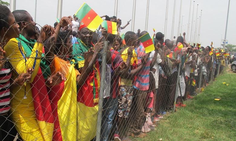 Yaoundé en liesse pour le retour des Lions indomptables