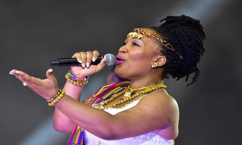 La voix de la chanteuse ivoirienne Josey Priscille Gnakro a enchanté le public. Ph AFP