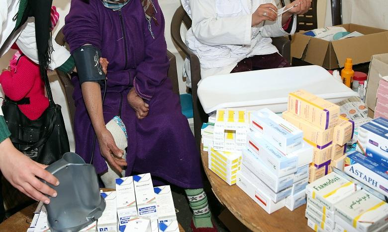 Une campagne médicale similaire, organisée les 14 et 15 février, a profité à 120 femmes au niveau du Cercle d'Imilchil. Ph : MAP